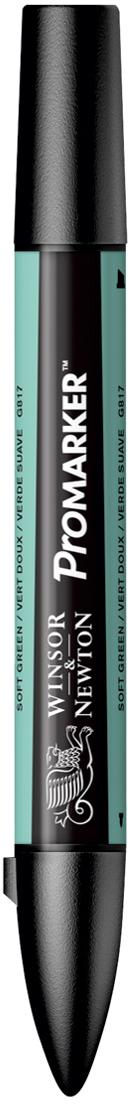 Winsor&Newton Маркер двухсторонний Promarker цвет: g817 зеленый мягкий