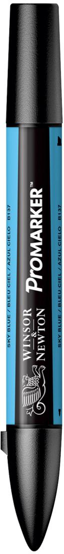 Winsor&Newton Маркер двухсторонний Promarker цвет: b137 небесно-голубой акварель winsor