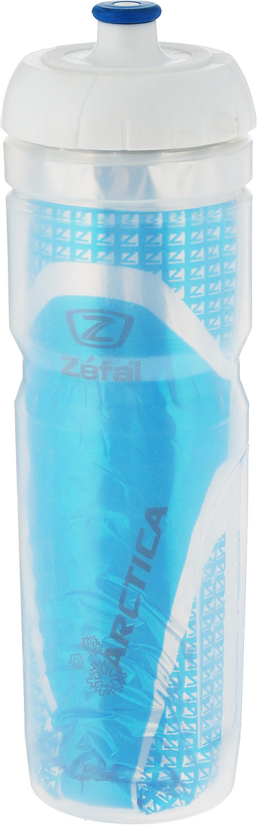 Фляга велосипедная Zefal Arctica 75, изотермическая, цвет: синий, 750 мл фляга велосипедная zefal sense m65 цвет белый 650 мл 155a