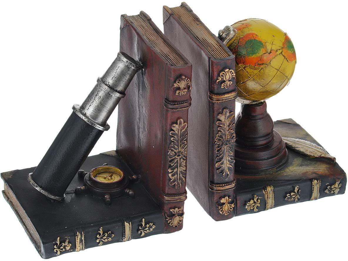 Подставка-ограничитель для книг Навигация, 2 шт подставка ограничитель для книг штурман 2 шт