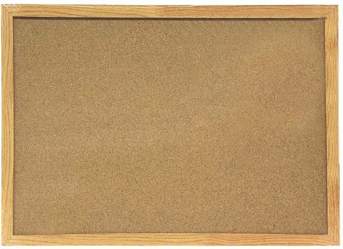 Доска пробковая  Magnetoplan , с деревянной рамкой, 60 см х 40 см