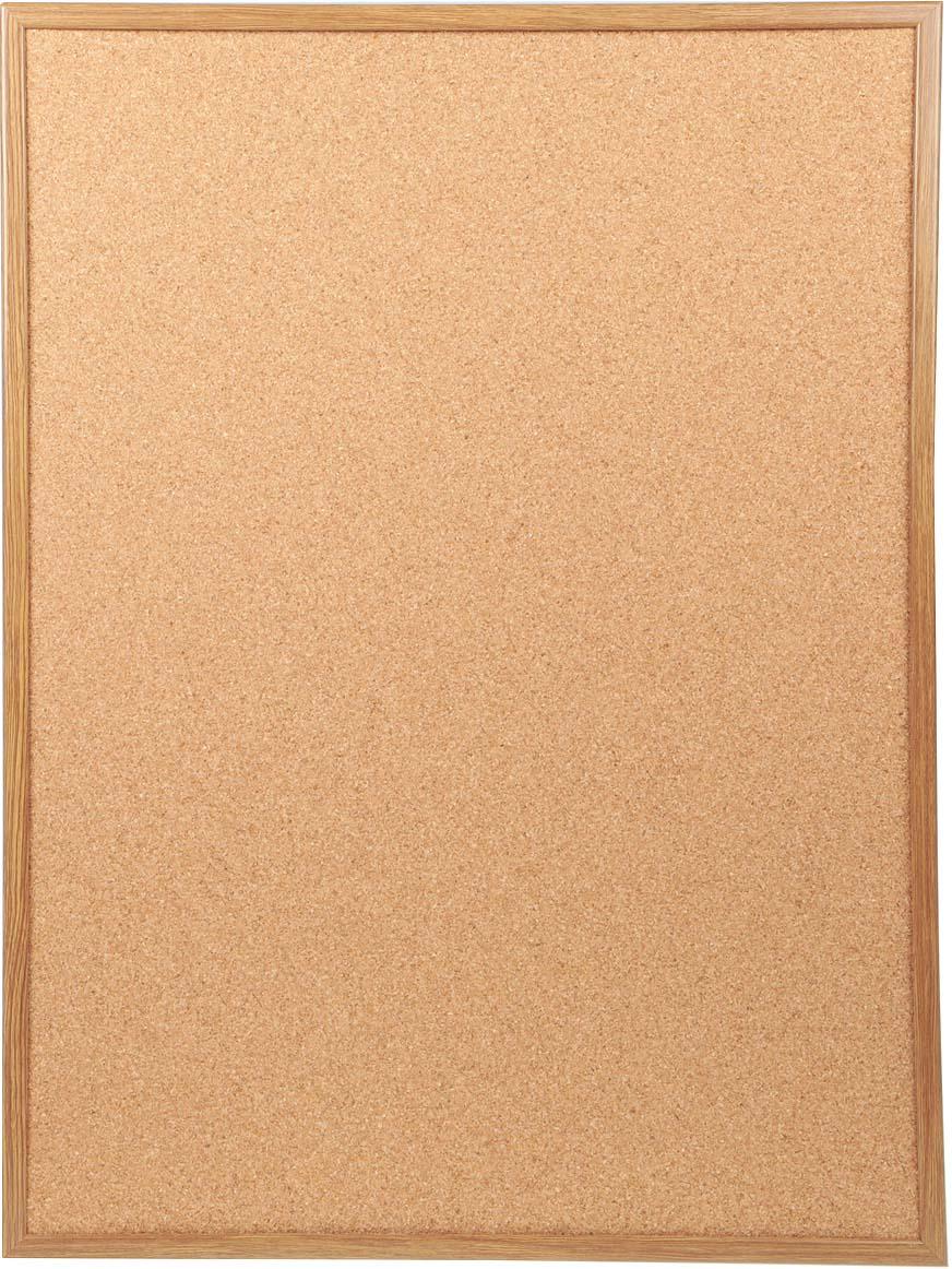 Доска пробковая  Magnetoplan , с деревянной рамкой, 80 см х 60 см