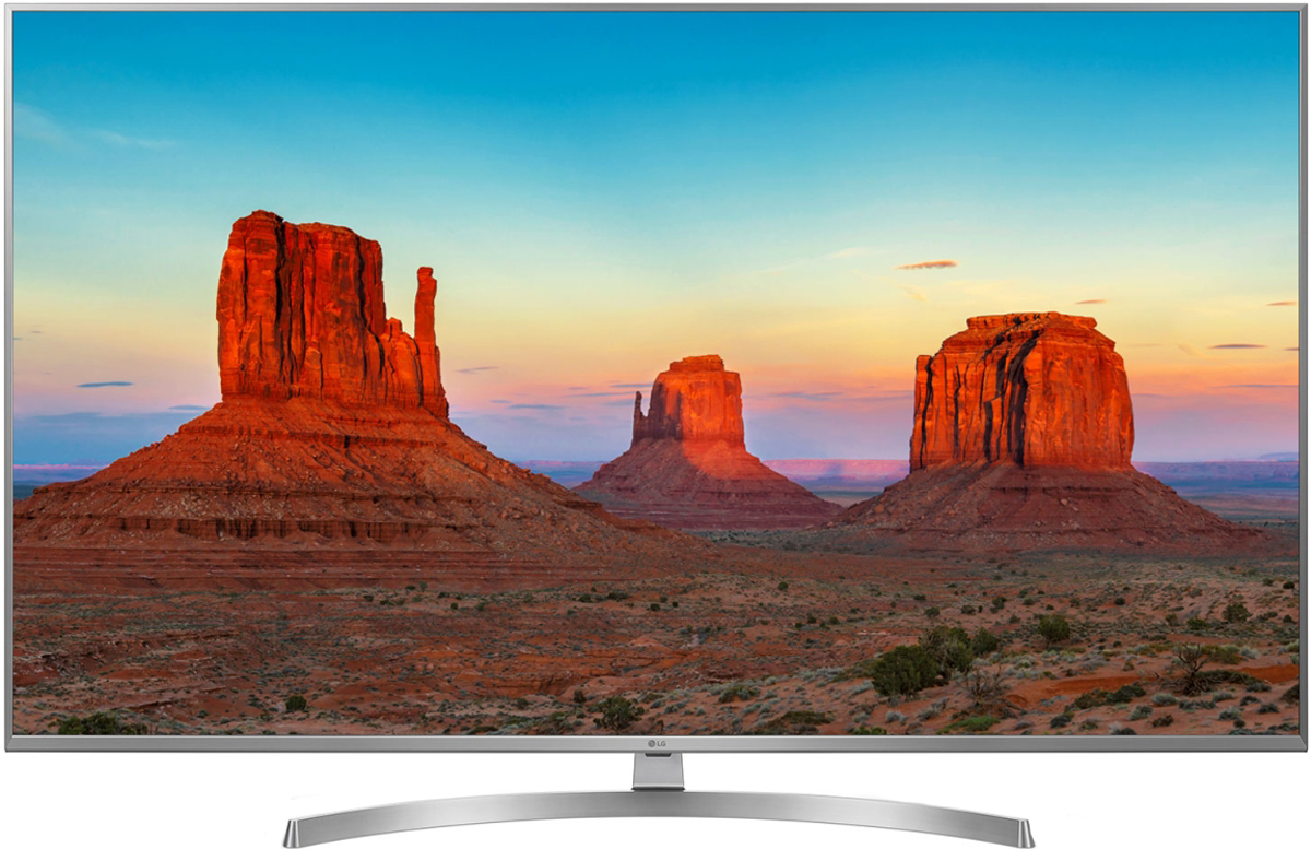Телевизор LG 55UK7500PLC 55, темно-серый телевизор lg 55uk7500plc серебристый