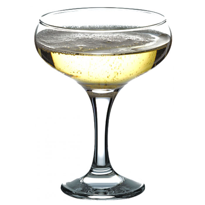 Набор фужеров для шампанского Pasabahce Bistro, 270 мл, 3 шт набор фужеров для шампанского pasabahce bistro цвет прозрачный 275 мл 6 шт