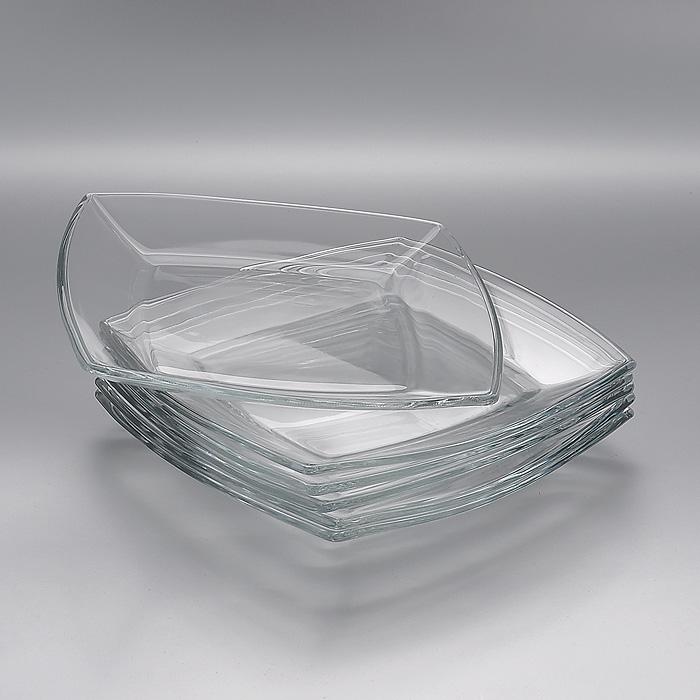 "Набор тарелок Pasabahce ""Токио"", 19,5 х 19,5 см, 6 шт"