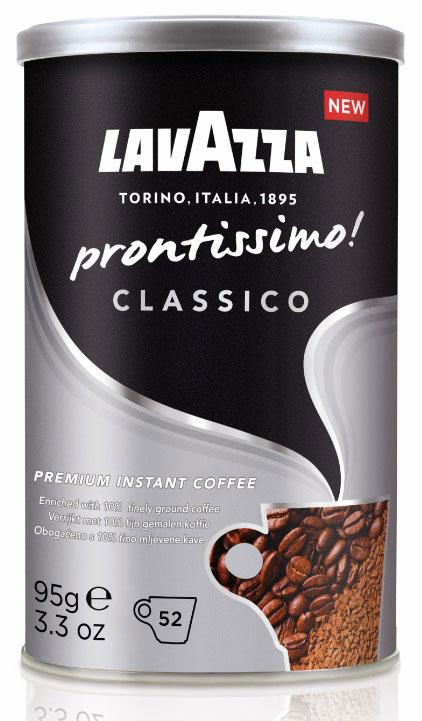 Lavazza Prontissimo Classico кофе растворимый, 95 г lavazza prontissimo classico кофе растворимый 95 г