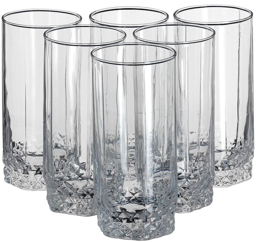 Набор стаканов для пива Pasabahce Valse, 440 мл, 6 шт набор стаканов для пива pasabahce pub 320 мл 3 шт