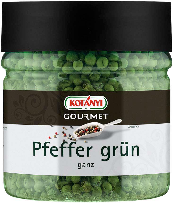 Kotanyi Перец зеленый горошек, 400 мл цена и фото