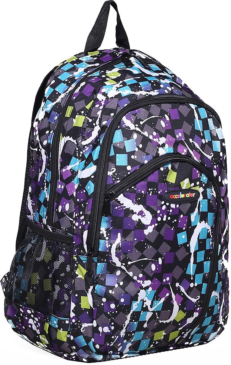 Рюкзак детский Клякса цвет фиолетовый 1661129