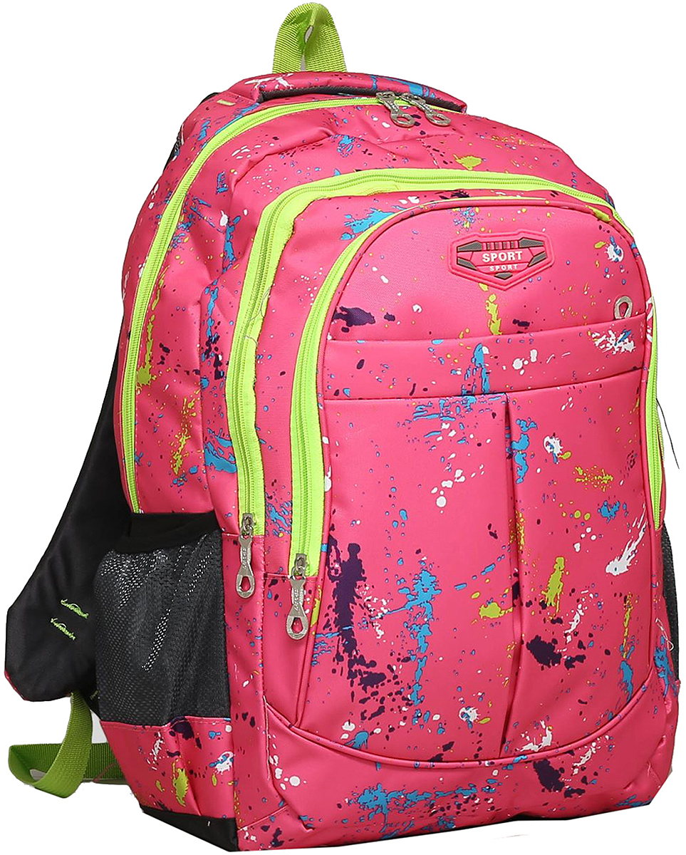 Рюкзак детский Колор цвет розовый 1675400