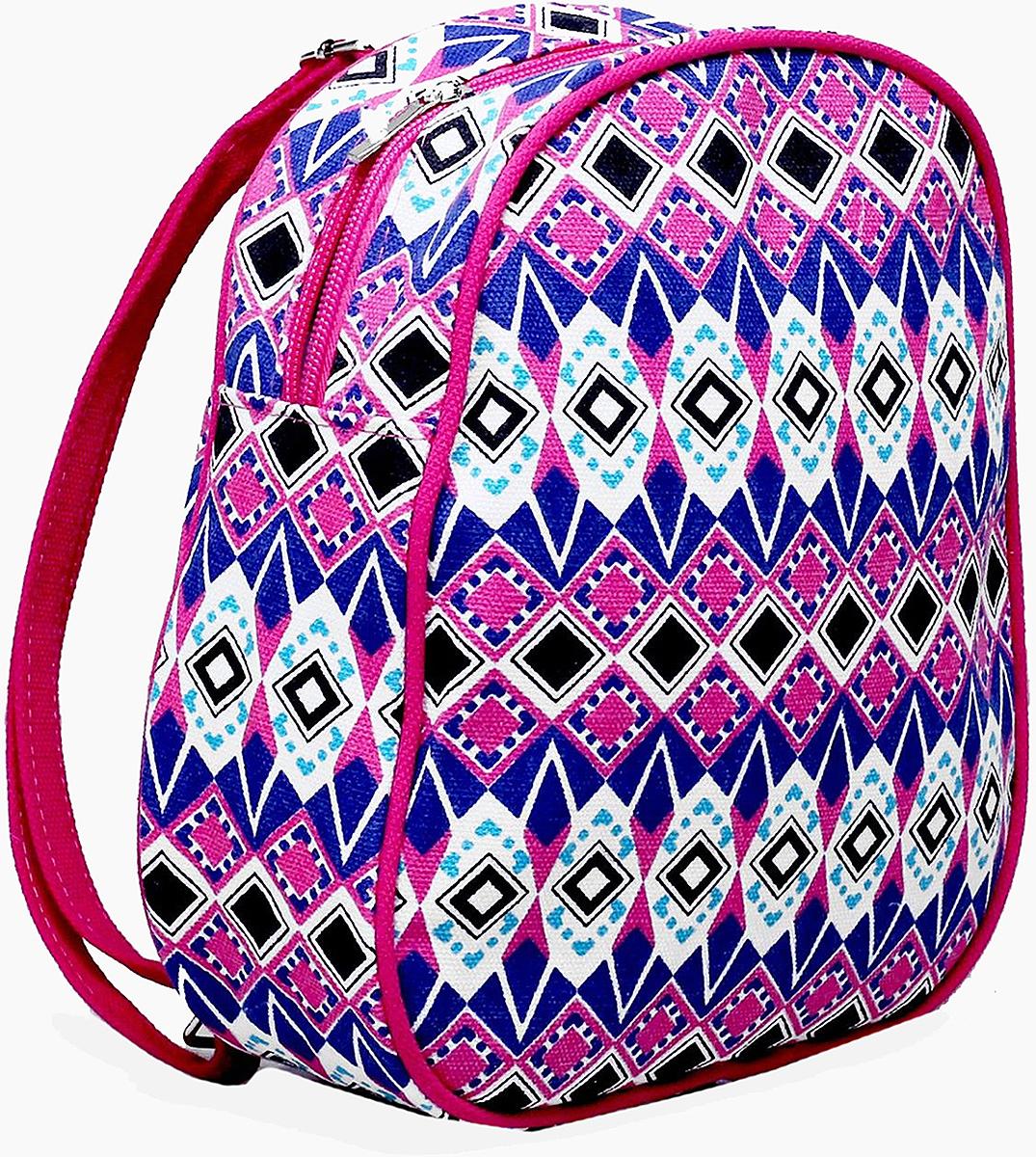 Рюкзак детский Орнамент цвет розовый 1865947
