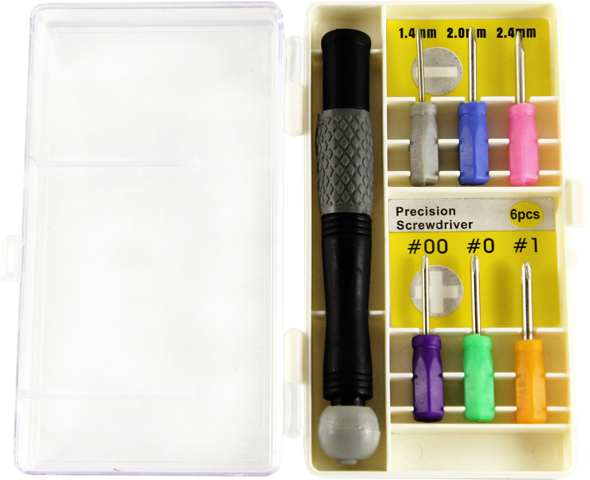 Набор отверток для точных работ Kroft, с держателем, 7 предметов набор отверток sata 09307