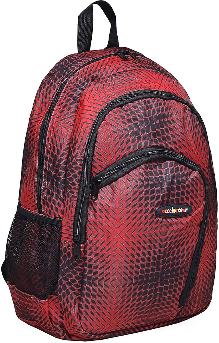 Рюкзак детский Ромбы цвет красный 1661080