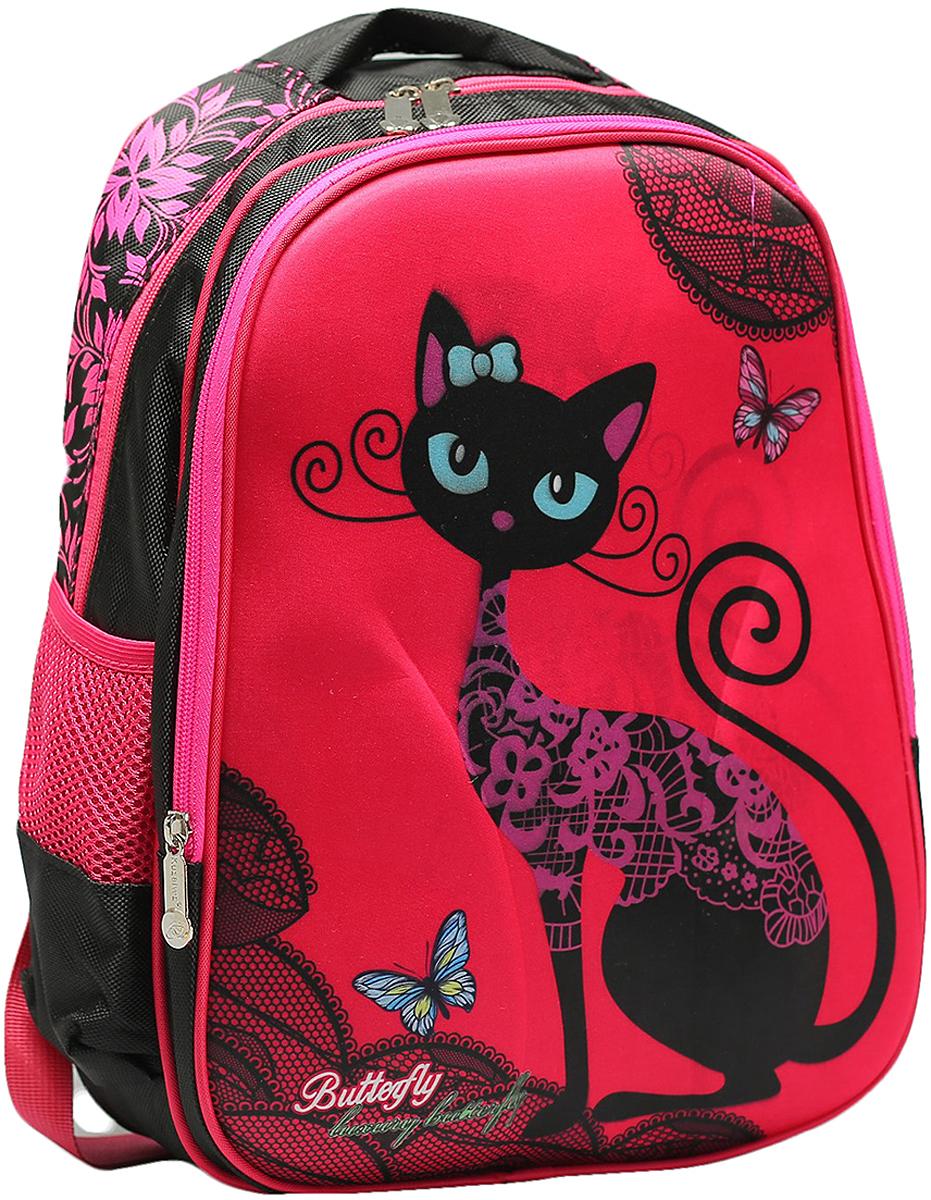 38a23ef8852c Рюкзак детский Кошечка цвет розовый 2820265 — купить в интернет-магазине  OZON.ru с быстрой доставкой