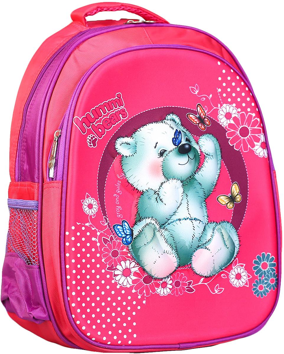 Рюкзак детский Мишка цвет розовый 2820285
