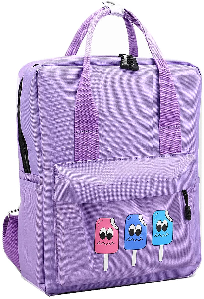 Рюкзак-сумка детский Мороженое цвет розовый 2826027
