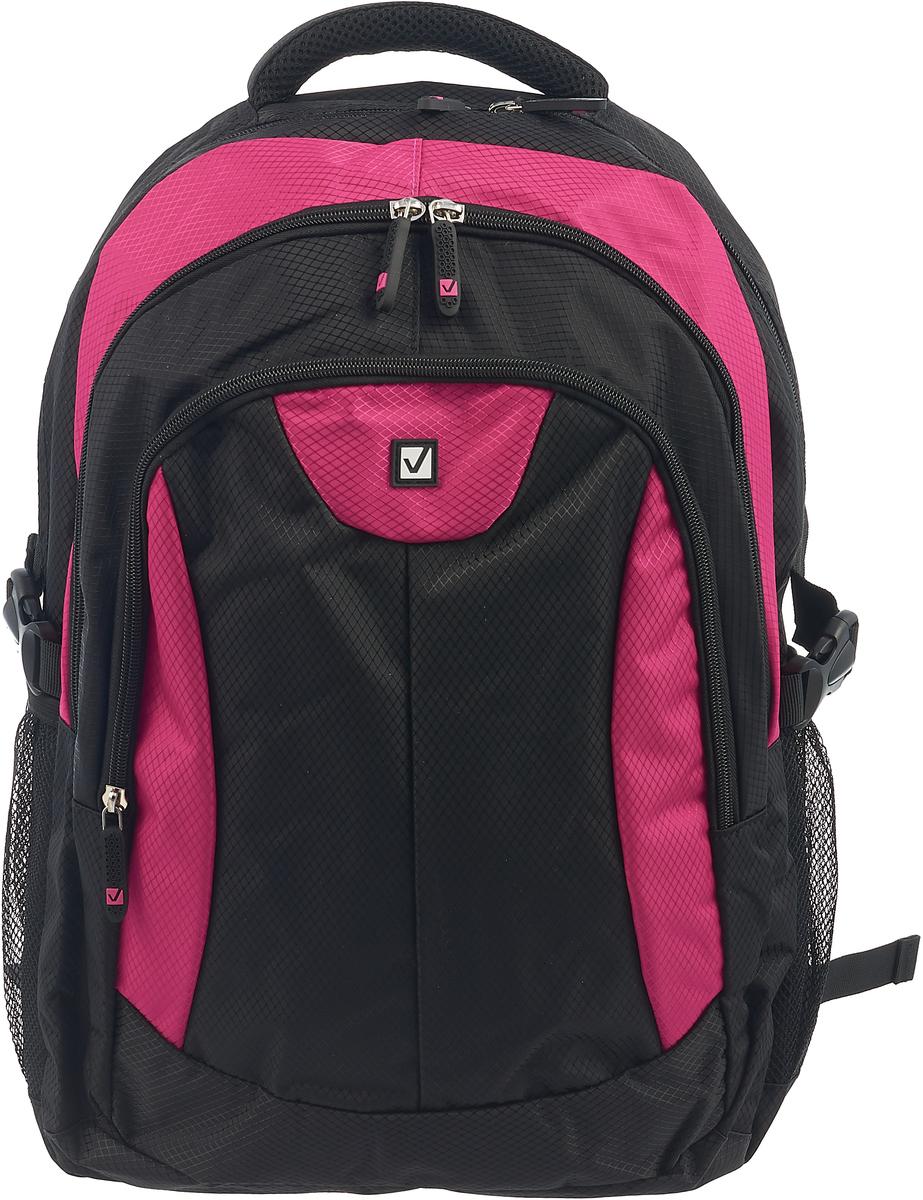 Brauberg Рюкзак Пурпур цвет черный фуксия brauberg brauberg рюкзак корал розовый