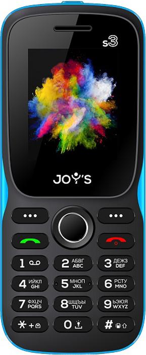 Мобильный телефон Joys S3 DS Black Blue Joys