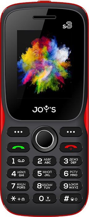Мобильный телефон Joys S3 DS Black Red Joys