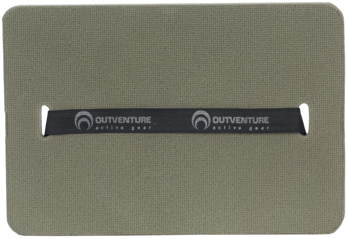 Коврик-сидушка Outventure Sitting Mat, цвет: зеленый, 35 х 24 см