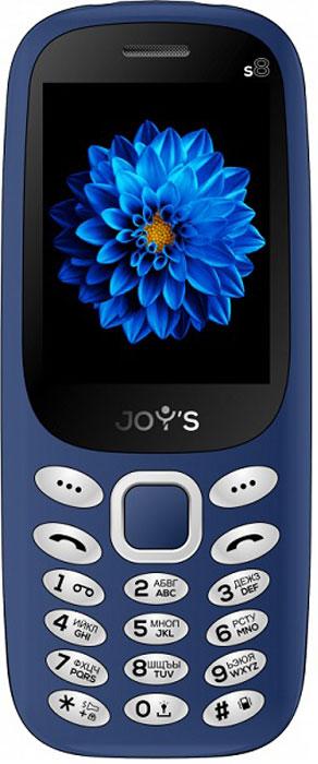 Мобильный телефон Joys S8 DS, темно-синий телефон dect gigaset l410 устройство громкой связи