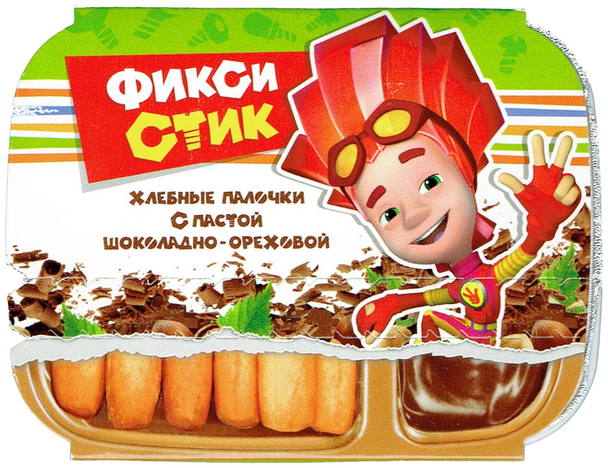 ФиксиСтик Хлебные палочки с пастой шоколадно-ореховой, 35 г