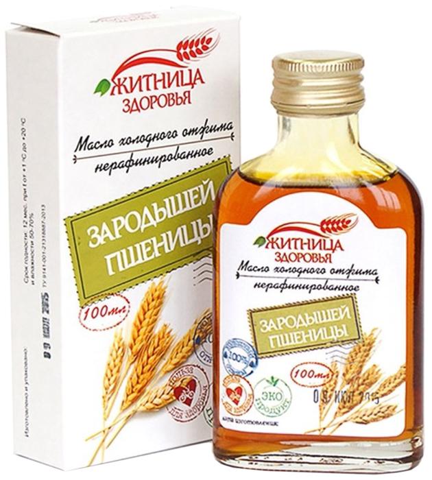 Житница Здоровья масло зародышей пшеницы холодного отжима нерафинированное, 100 мл житница здоровья мука миндальная 100 г