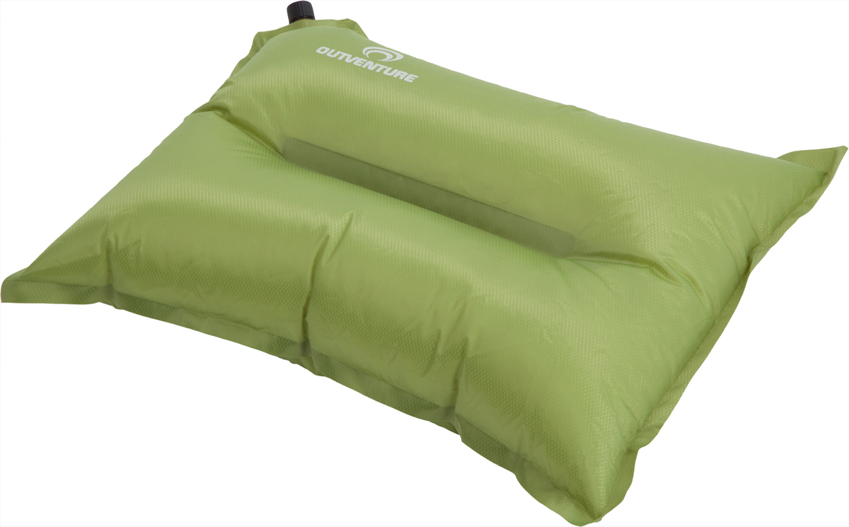 Подушка кемпинговая Outventure Camping Pillow, цвет: зеленый american retro nostalgia sofa stool storage stool changing his shoes stool circular fashion toy storage box clothing store furni