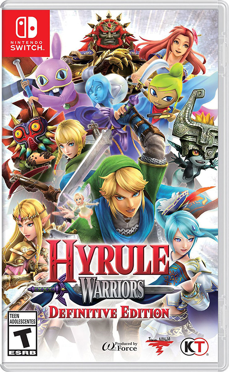 Hyrule Warriors: Definitive Edition (Nintendo Switch) new nintendo 2ds xl animal crossing edition gray портативная игровая приставка