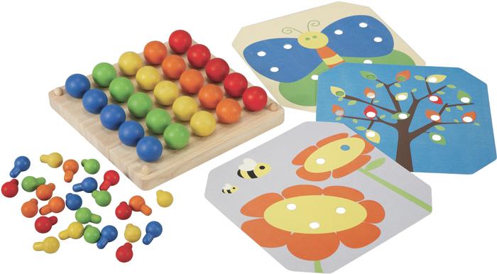 Plan Toys Мозаика ходунки plan toys птички 5176