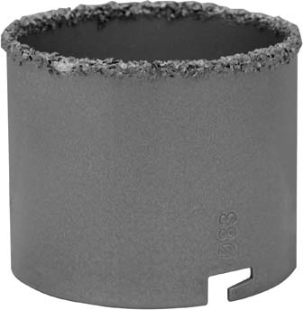 Коронка Vira Rage по керамике, 83 мм коронка vira rage по бетону 90 мм