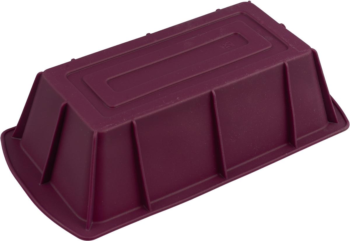 Форма для выпечки Paterra, силиконовая, 402-440, цвет в ассортименте, 25 х 13 х 6,5 см ящик универсальный альтернатива раскладной цвет в ассортименте 38 5 х 25 5 х 21 см