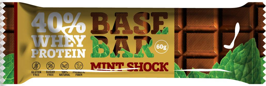 """Батончик протеиновый Base Bar """"Mint Shock"""""""