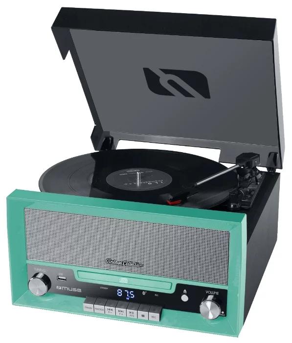 Проигрыватель виниловых дисков Muse MT-110GR, Green проигрыватель виниловых дисков reloop turn2 red