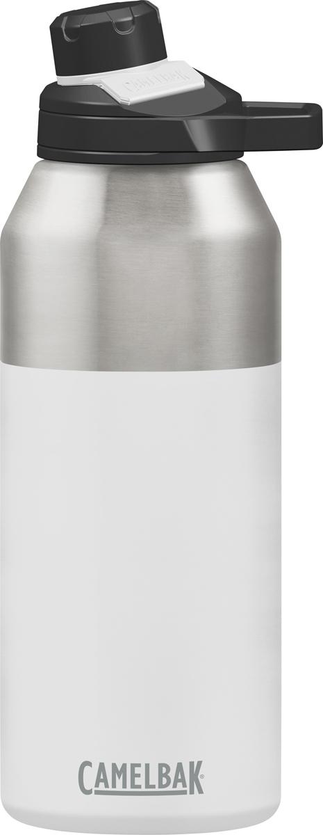 Термос Camelbak Chute, 1200 мл. 15171010121517101012Вакуумный термос Camelbak изготовлен из нержавеющей стали без BPA, BPS, BPF. Не впитывает запахи. Термос держит холодную температуру 48 часов, горячую 6 часов. Термос оснащен уникальным горлышком - удобно пить прямо из него, кружка не нужна. Крышка прикреплена к термосу, оснащена магнитным фиксатором. Жёсткая петля для двух пальцев - удобно держать и носить в руке.