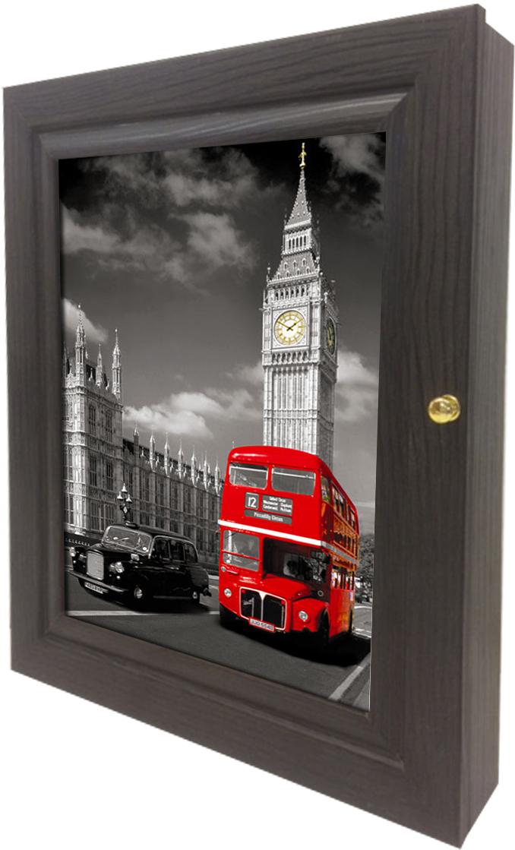 Фото - Ключница настенная Toplight, цвет: венге, 24 x 29 x 4,5 см. to4rooms декор настенный ключница bautista