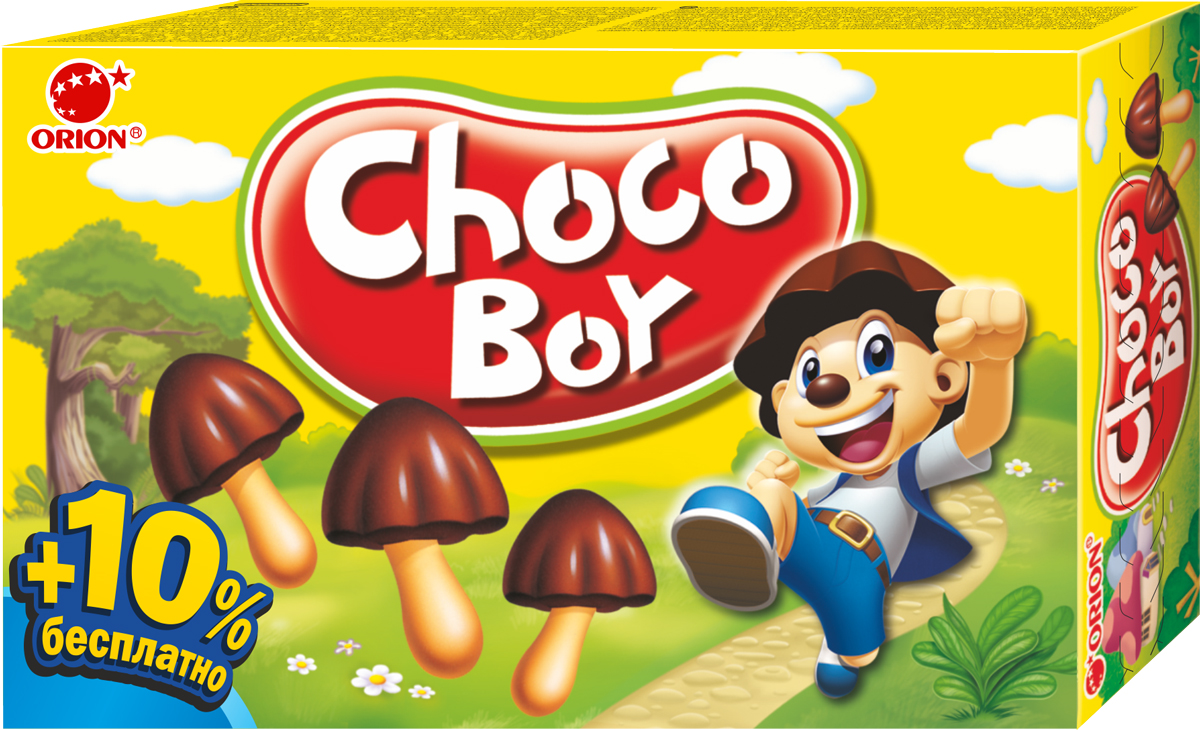 Orion ChocoBoy печенье, 100 г orion chocoboy сафари 42 г