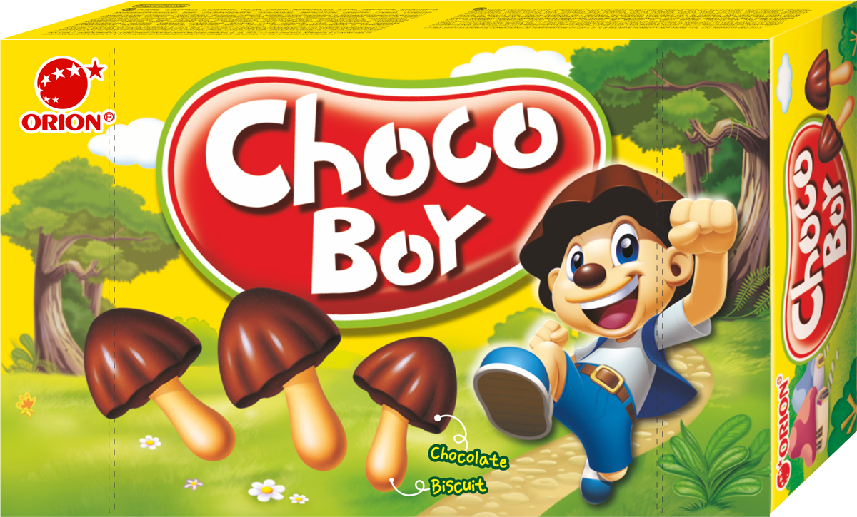 Orion ChocoBoy печенье, 45 г orion chocoboy сафари 42 г