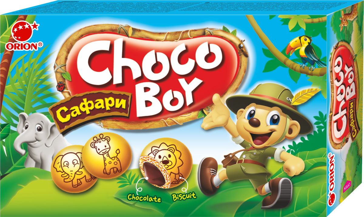 Orion ChocoBoy Сафари, 42 г orion chocoboy сафари 42 г