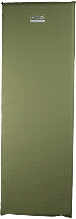 Коврик самонадувающийся Red Fox Basic Mat Large, цвет: хаки, 198 х 66 х 3,8 см