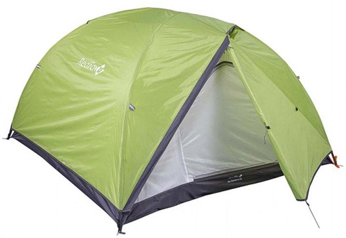 Палатка Red Fox Fox Comfort 2-3, 3-х местная, цвет: зеленый
