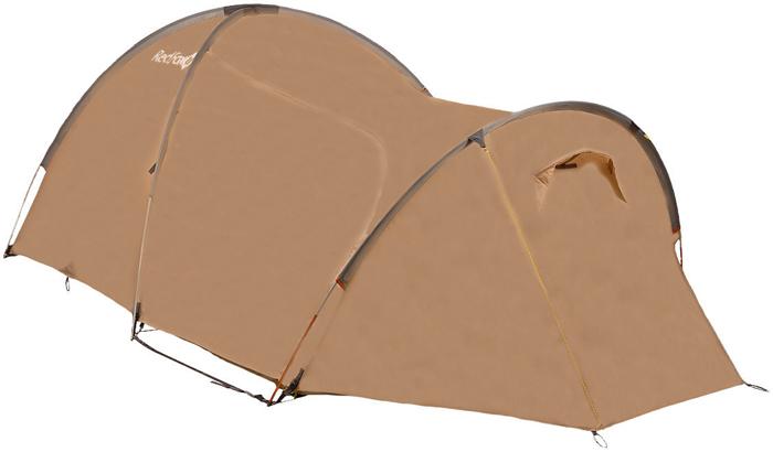 Палатка Red Fox Challenger 3 Combo V2, 3-х местная, цвет: светло-бежевый