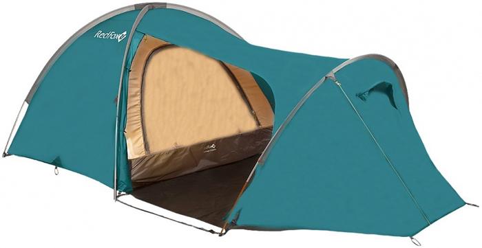 Палатка Red Fox Challenger 3 Combo V2, 3-х местная, цвет: зеленый