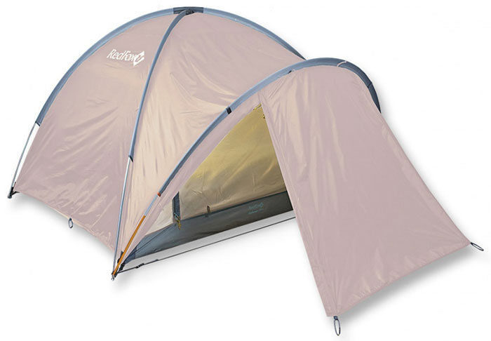 Палатка Red Fox Challenger 3 Plus V2, 3-х местная, цвет: светло-бежевый