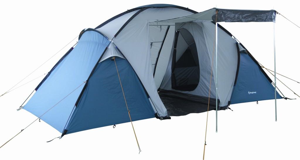 Палатка туристическая King Camp 3030 Bari, цвет: синий