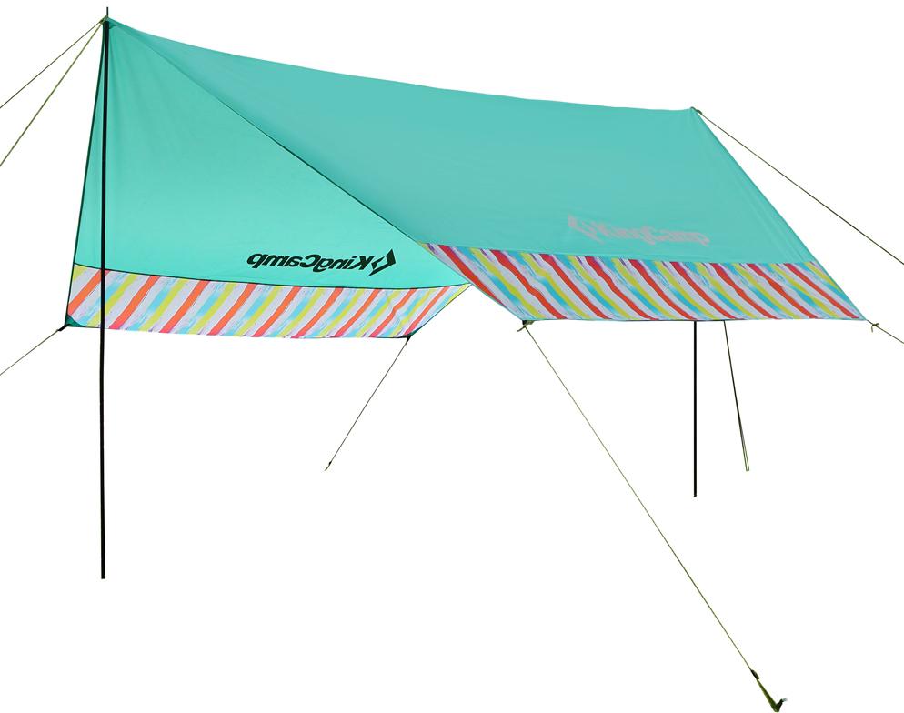 Тент King Camp 9007 Garda Rainbow, цвет: бирюзовый