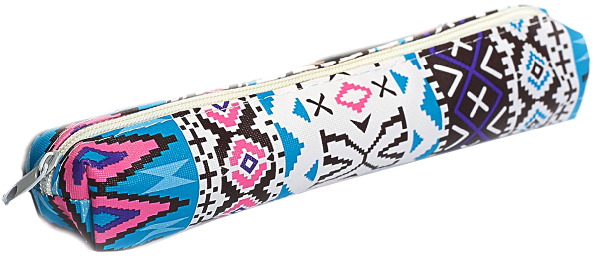 Calligrata Пенал школьный Орнамент цвет синий 2879220 calligrata дневник школьный уральского школьника 3122392