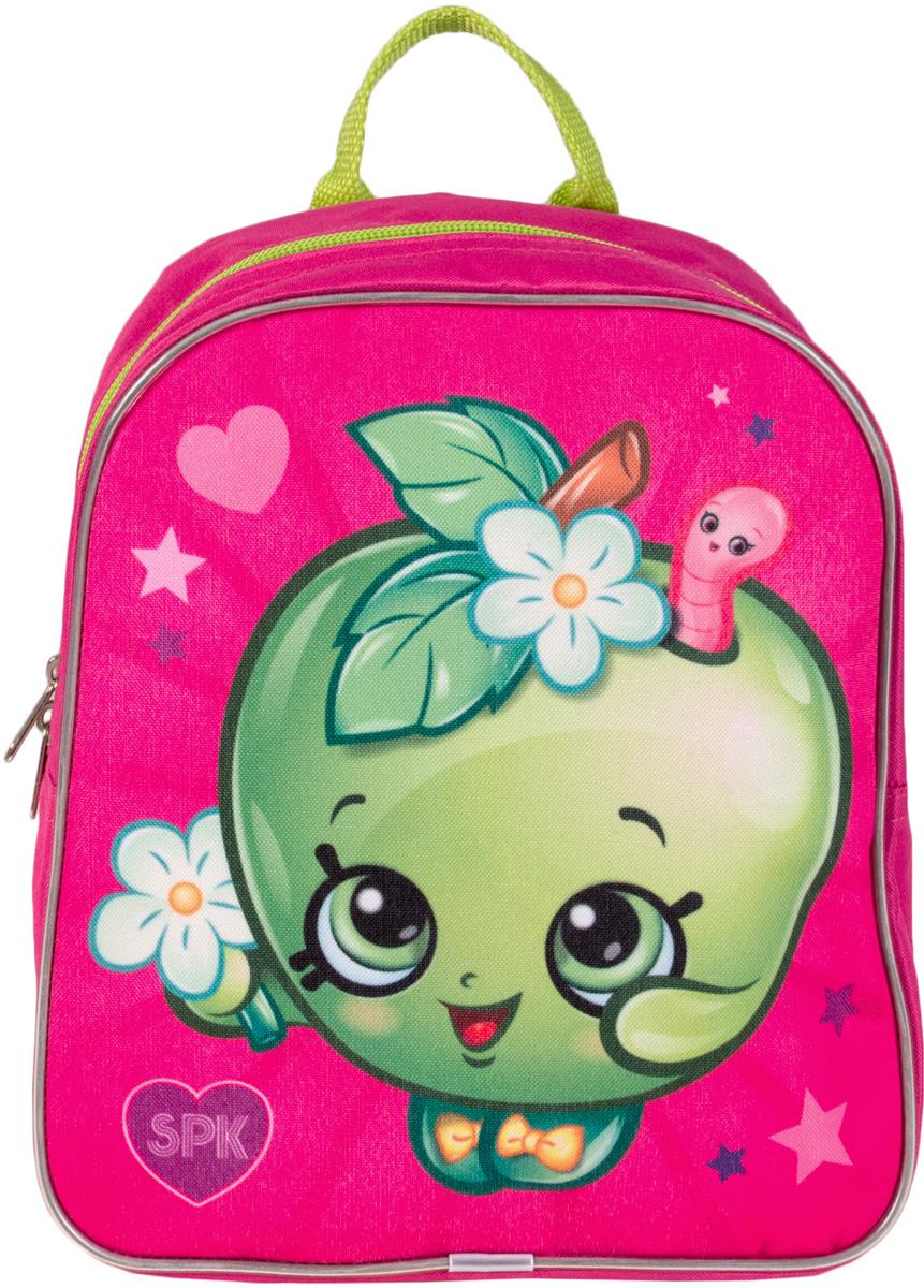 Shopkins Рюкзак дошкольный цвет Яблоко розовый 33610