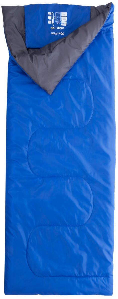 Спальный мешок Outventure Llight, цвет: синий. Размер 1 sz (190 см) outventure стул outventure
