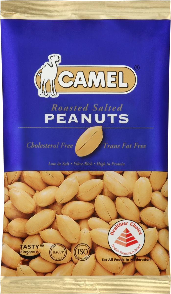 Camel Жареный арахис подсоленный, 40 г camel жареный кешью подсоленный 40 г